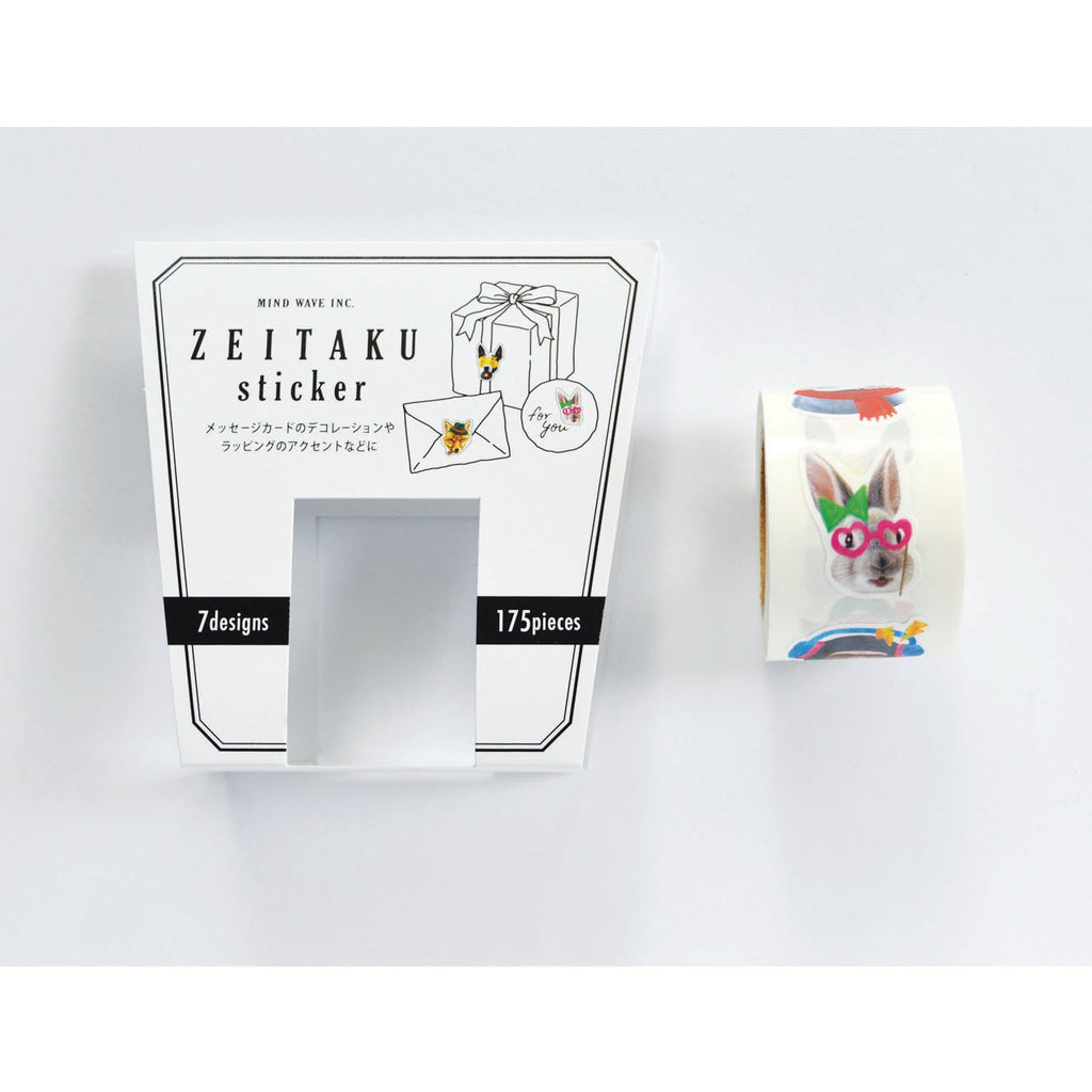 ZEITAKU STICKER ROLL- ANIMAL GRAFFITI