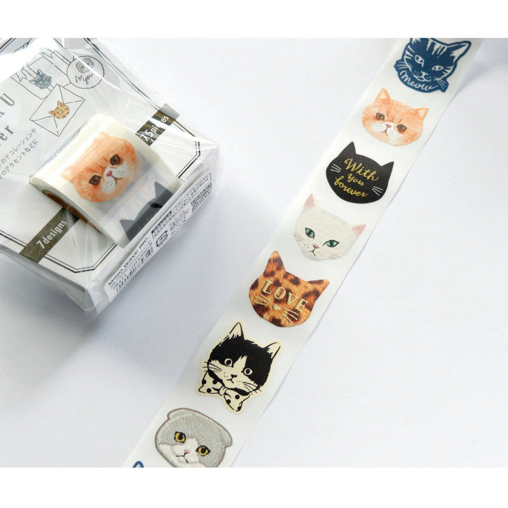 ZEITAKU STICKER ROLL- CATS