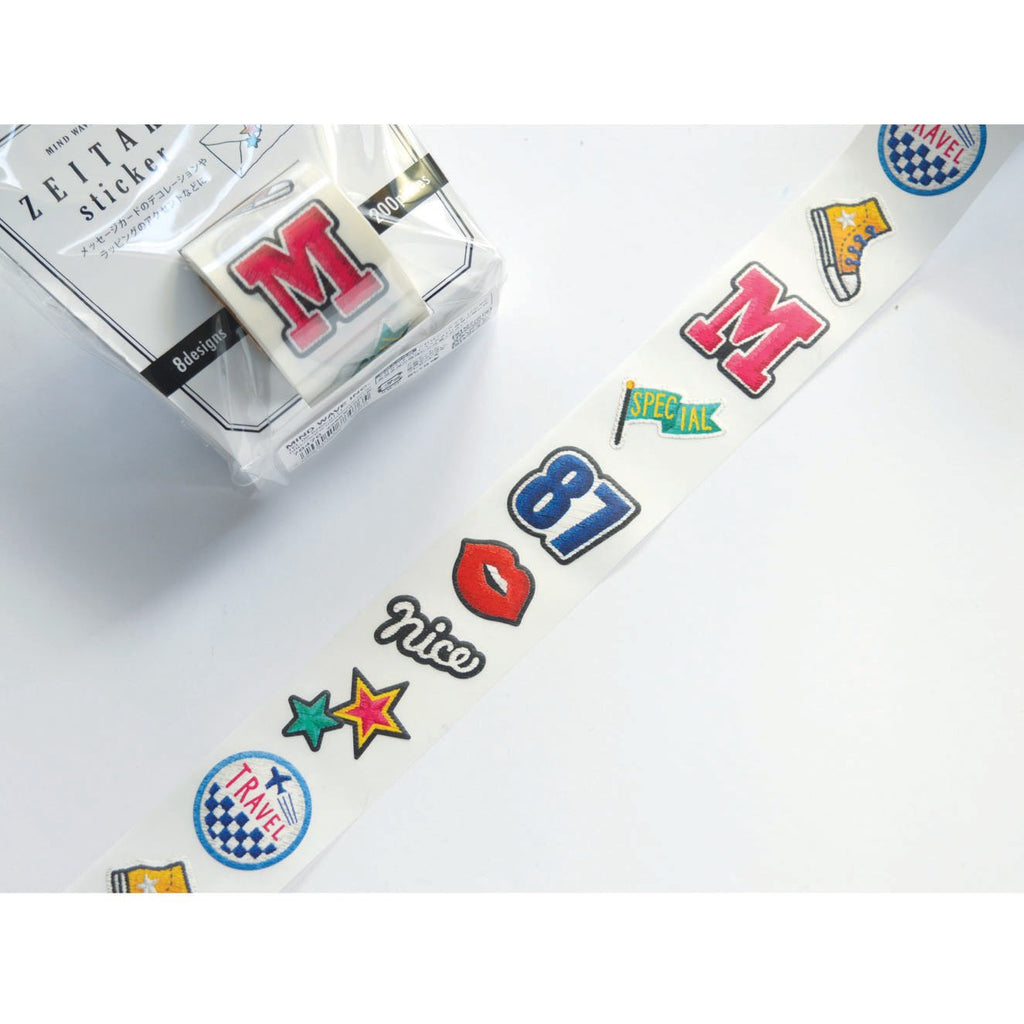 ZEITAKU STICKER ROLL- VINTAGE PATCH