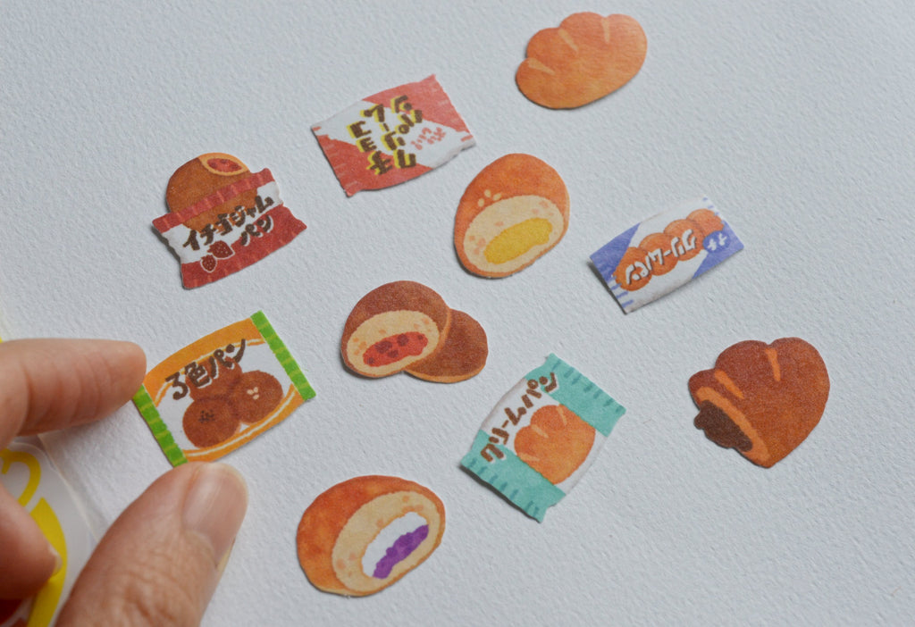 BAKERY STICKERS- CREAM BUN