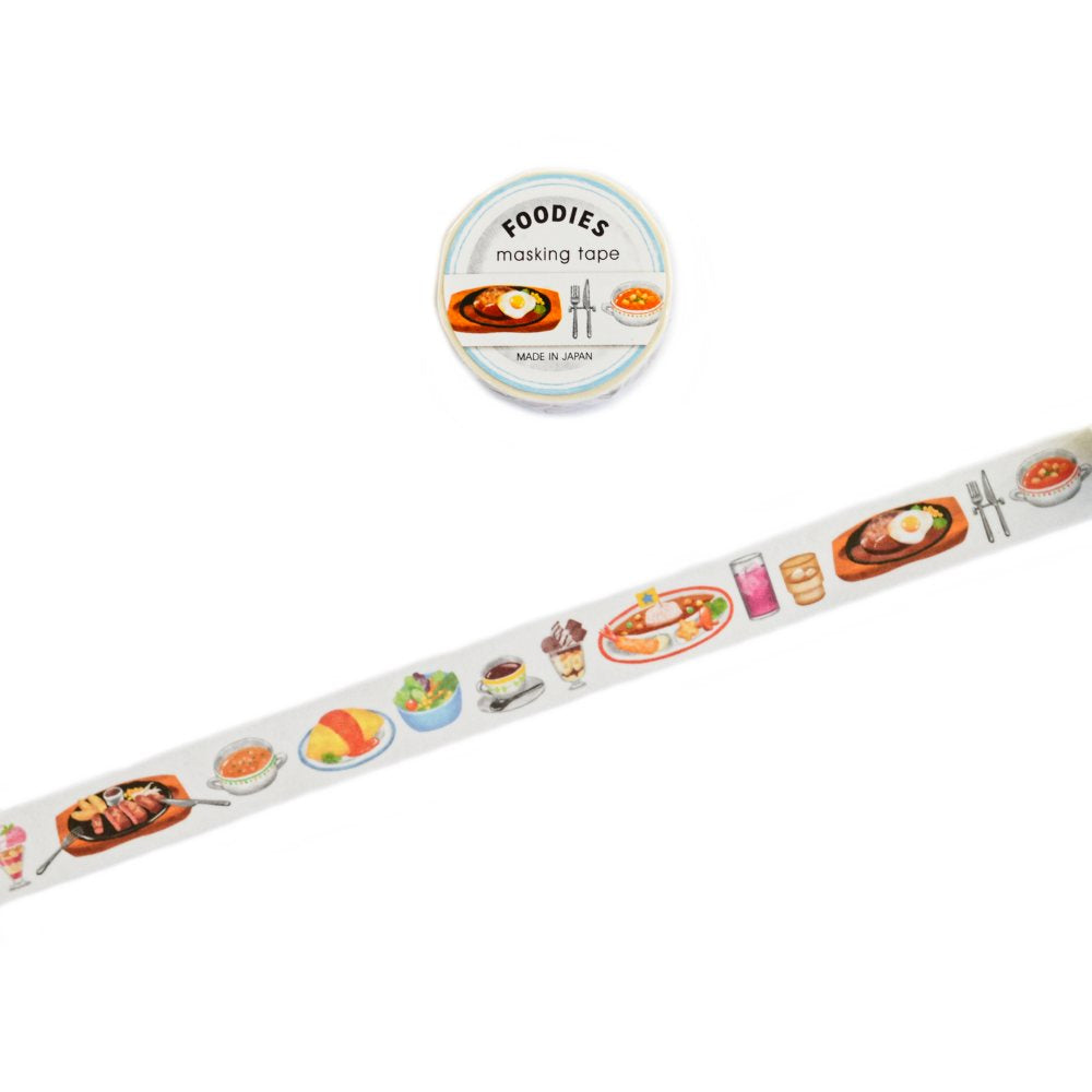 WASHI TAPE- FOODIES DINNER