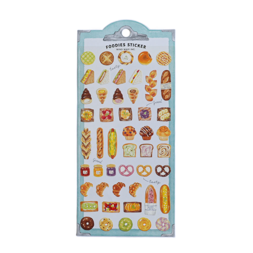 FOODIES STICKERS- BAKERY