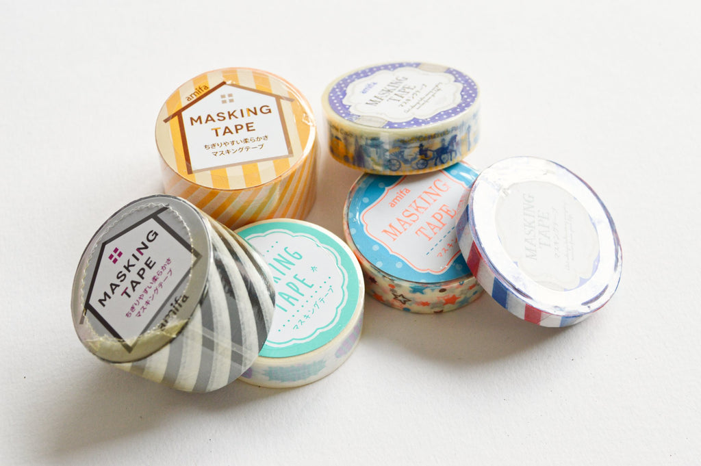 LUCKY DIP- BAG OF 6 WASHI TAPES