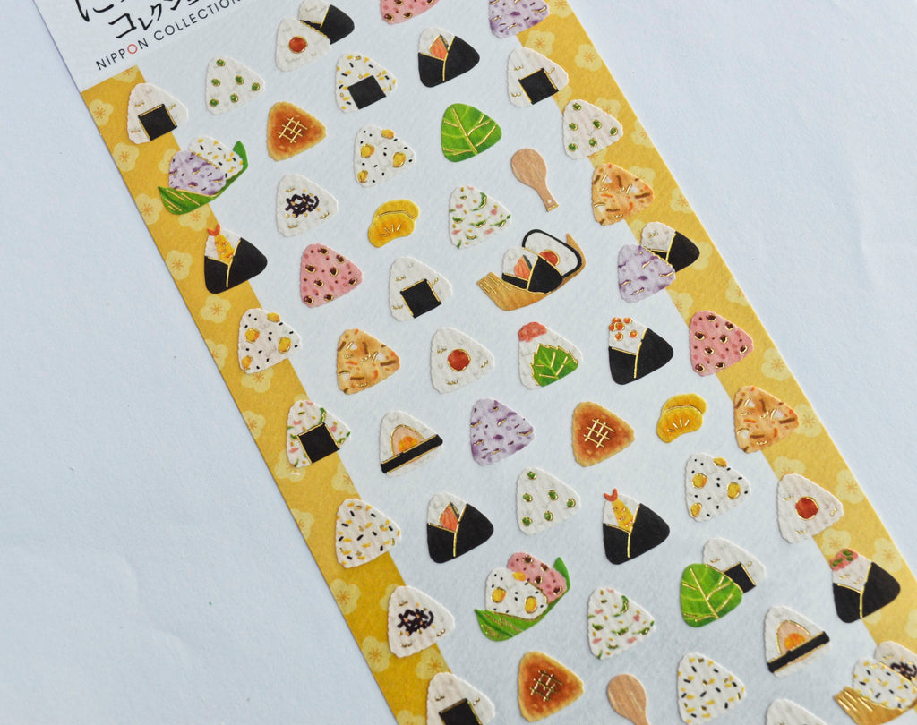 NIPPON COLLECTION- ONIGIRI STICKERS