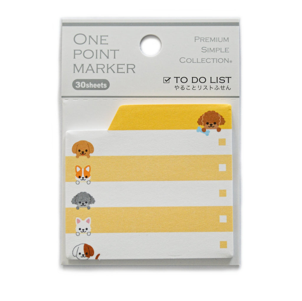 TO DO LIST STICKY NOTEPAD- CATS & DOGS