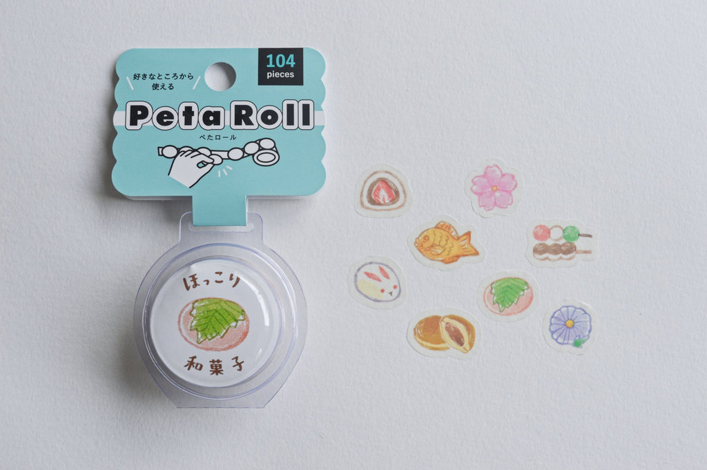 PETA ROLL (WASHI STICKERS)- WAGASHI