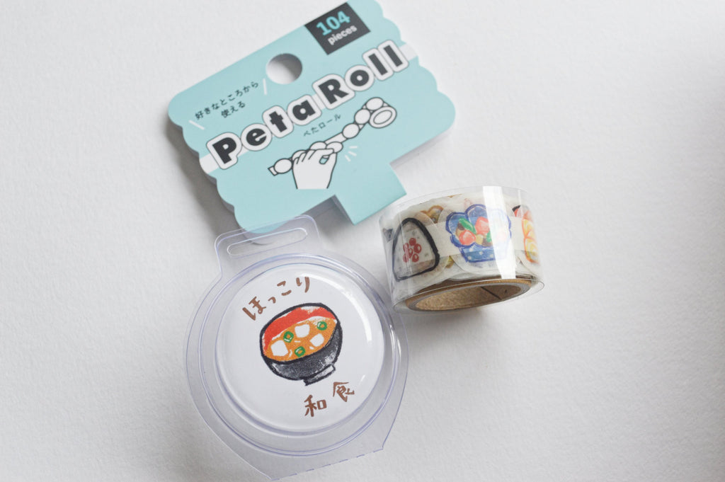 PETA ROLL (WASHI STICKERS)- WASHOKU