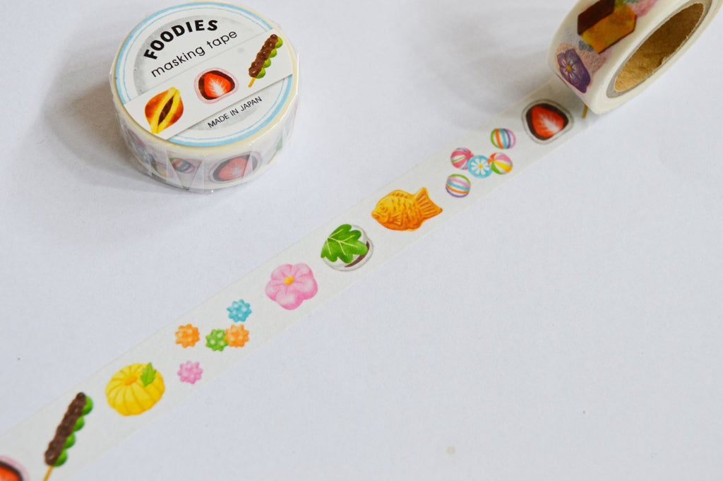 WASHI TAPE- FOODIES WAGASHI