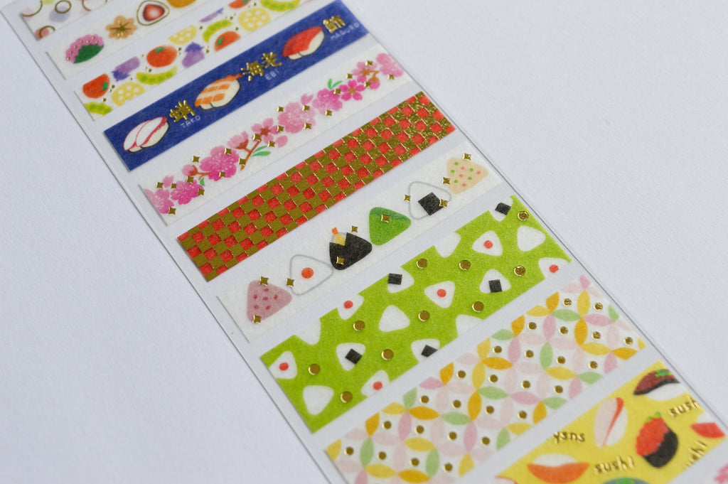 WASHI SEAL TAPE SHEETS- JAPAN