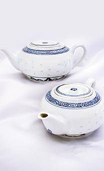Rice Grain Yum Cha Teapot - On Clearance