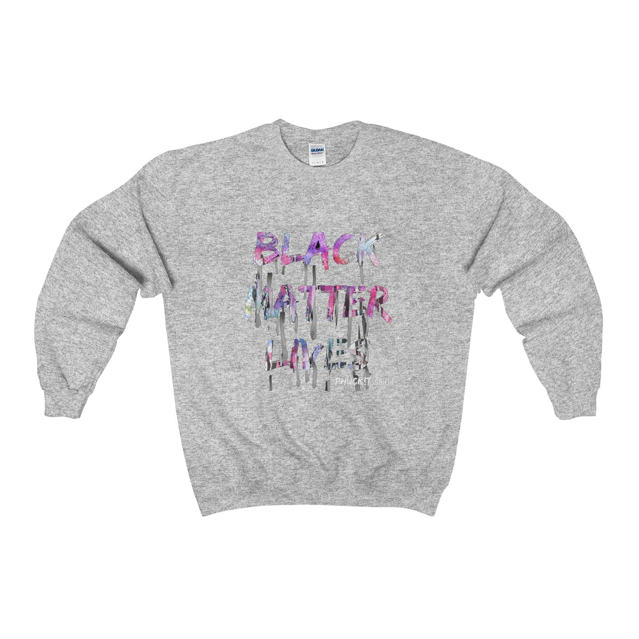 Black Matter LIVES men's Crewneck Sweatshirt