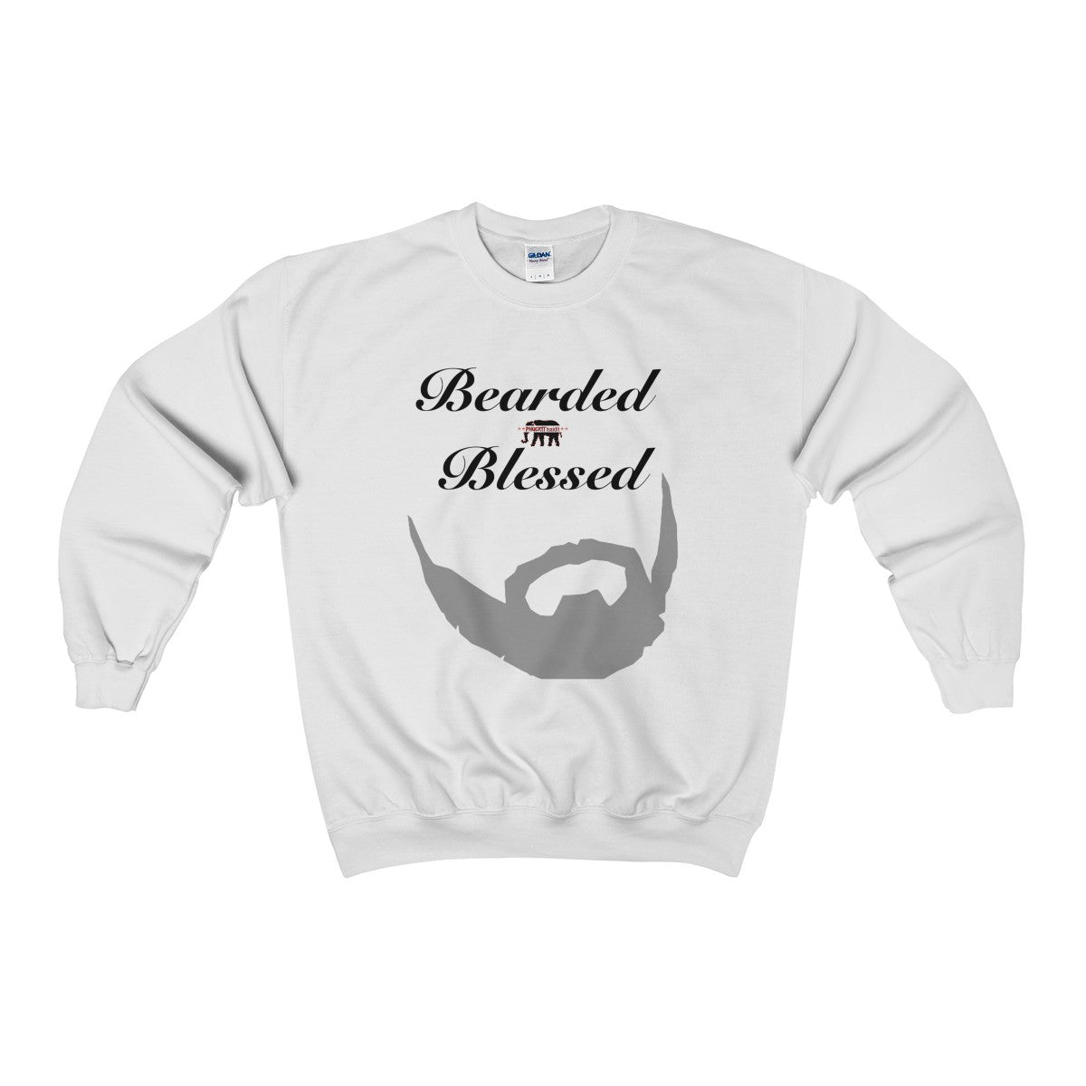 Blessed and Bearded Heavy Blend™ Crewneck Sweatshirt