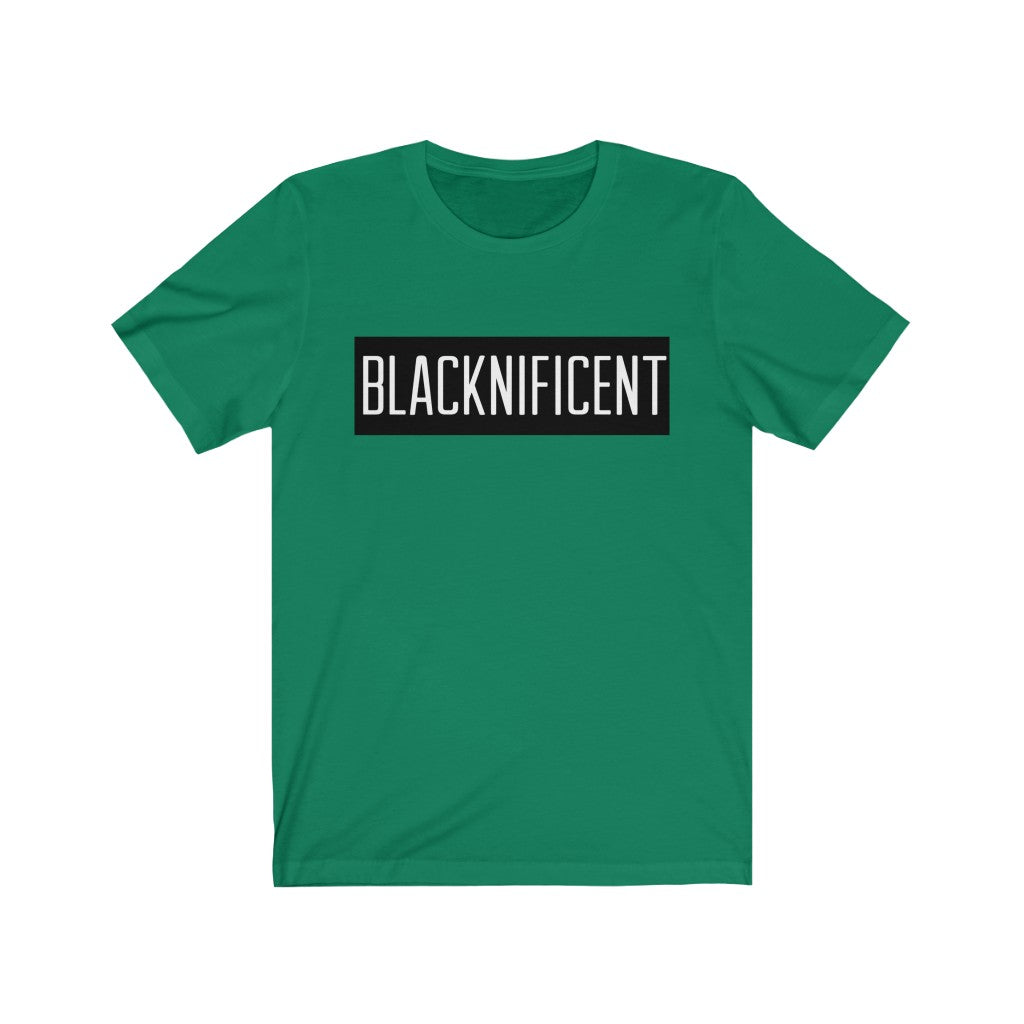 Blacknificent womenShort Sleeve Tee