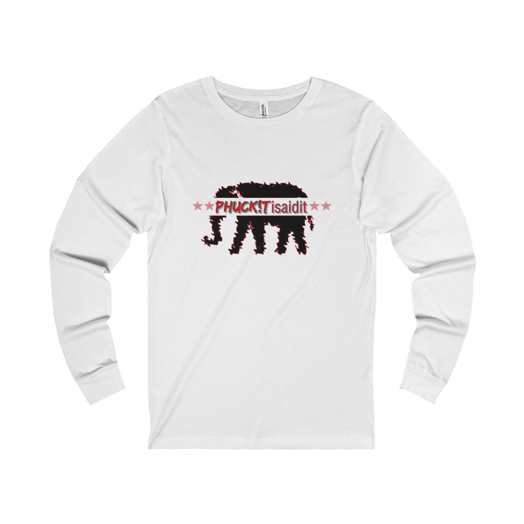 Elephant in the room men's  Long Sleeve Tee