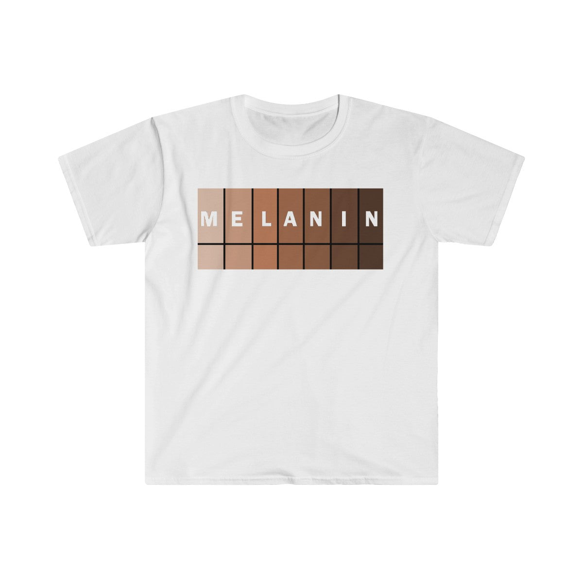Melanin Fitted Short Sleeve Tee men's