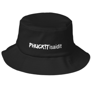 PHUCKITisaidit Old School Bucket Hat