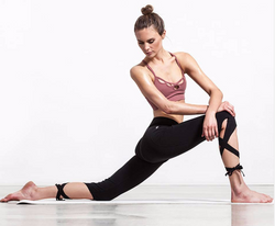 YOGA CROPPED BANDAGE SPORTS PANTS LEGGINGS