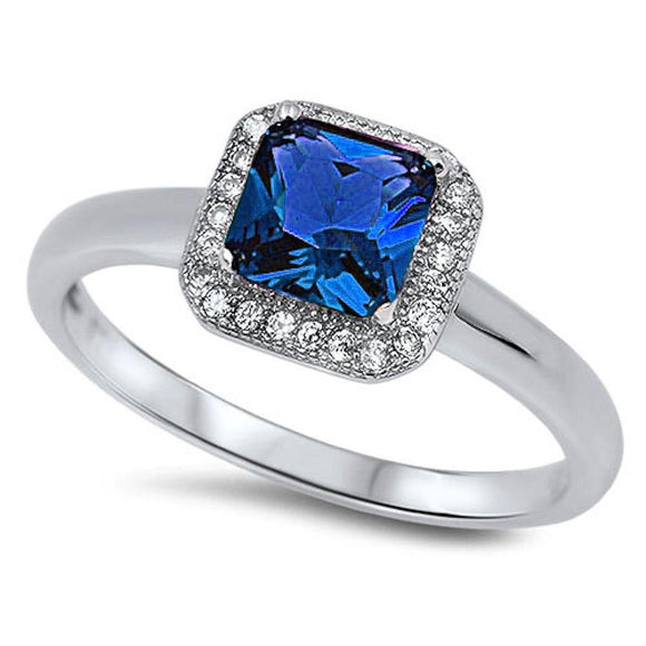 Cushion Cut 1.10 ct Sapphire Ring - Best Jewelry Deals