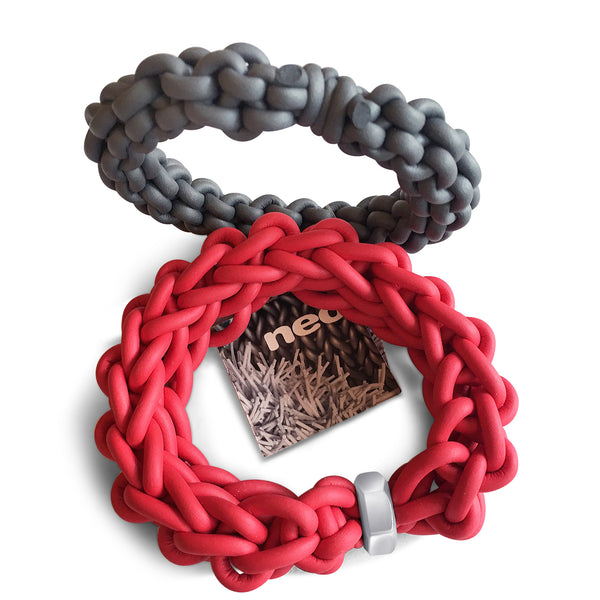 Knit Rubber Bracelet