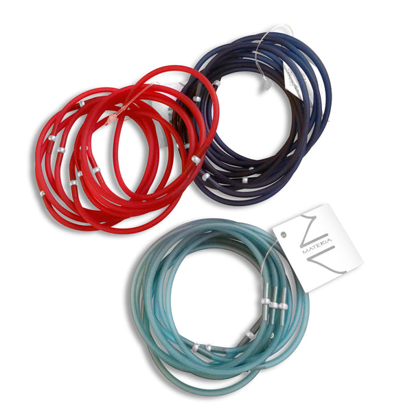Multi Rubber Bracelets