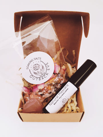 Rose Treat - Pampering Bundle  - outbackeve Natural Mineral Makeup Cosmetics for Sensitive Skin Australia