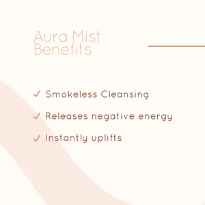 Aura Mist Smudge Spray - Cleanse and Protect Your Energy
