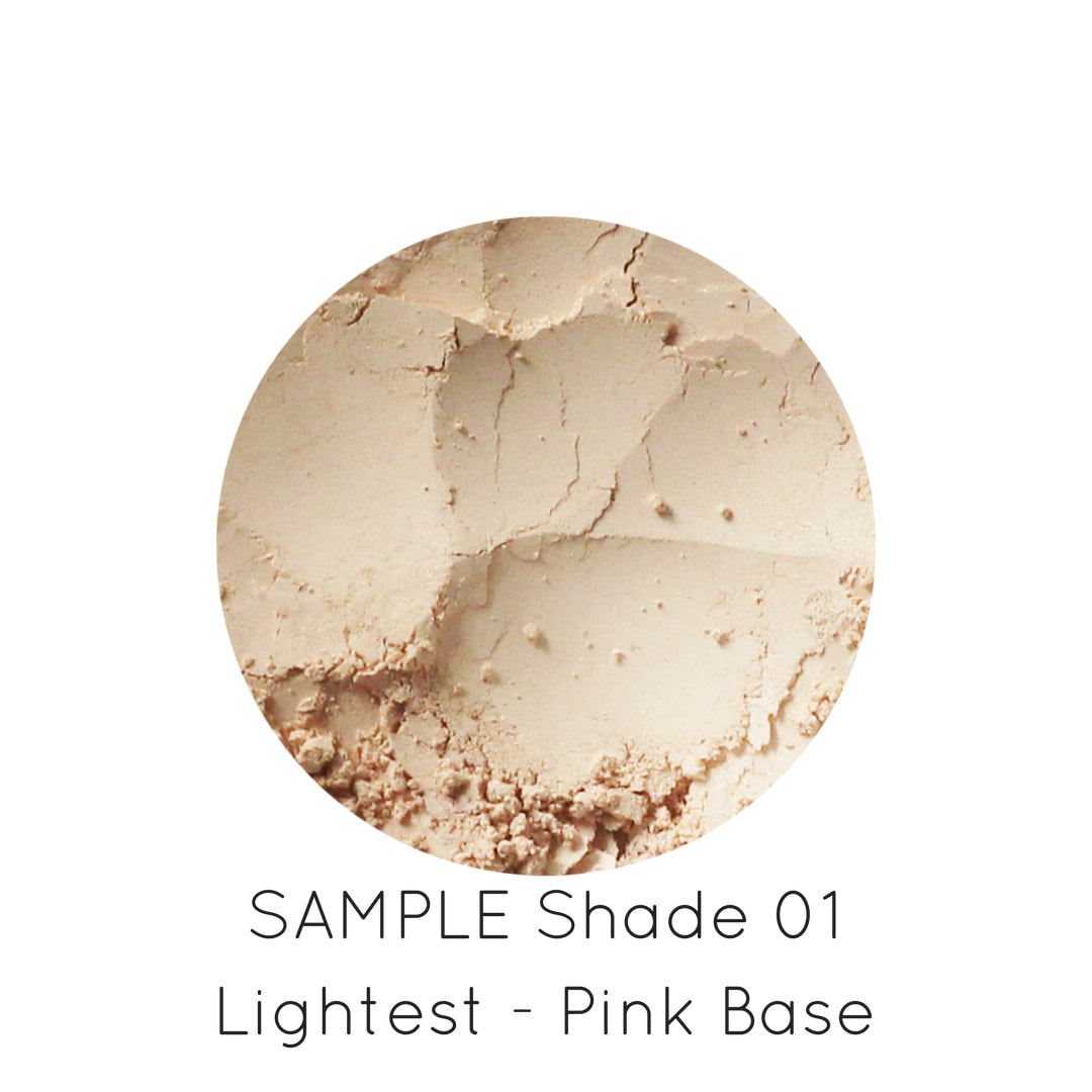 SAMPLE - Natural Loose Mineral Foundation - outbackeve