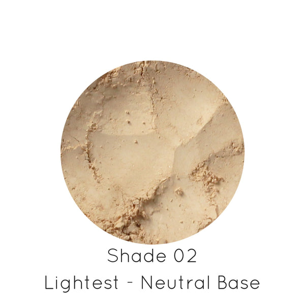 Natural Mineral Makeup - Foundation Natural Loose Mineral Foundation - outbackeve Natural Mineral Makeup Cosmetics for Sensitive Skin Australia