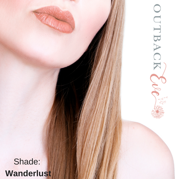 SAMPLE - Natural Vegan Lipstick - Creamy or Matte Shades - outbackeve