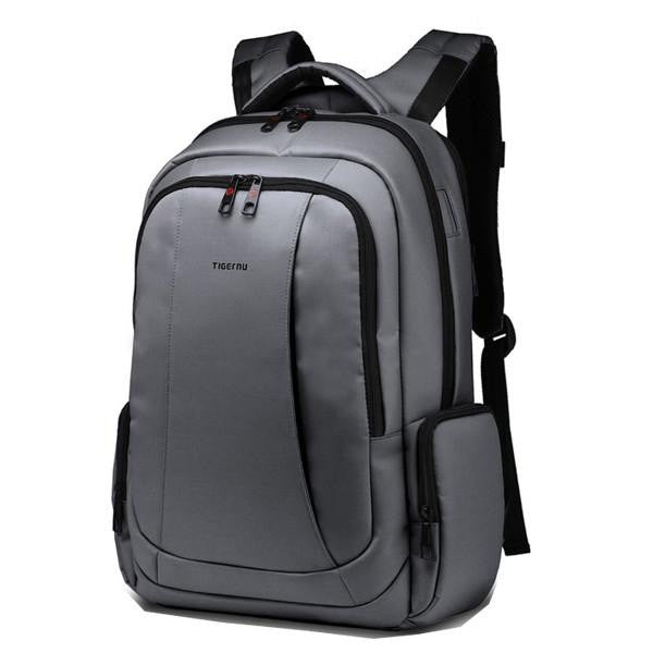 6f9aa7812a Tigernu Nylon Laptop Backpack - Grey – Bag Lifestyle