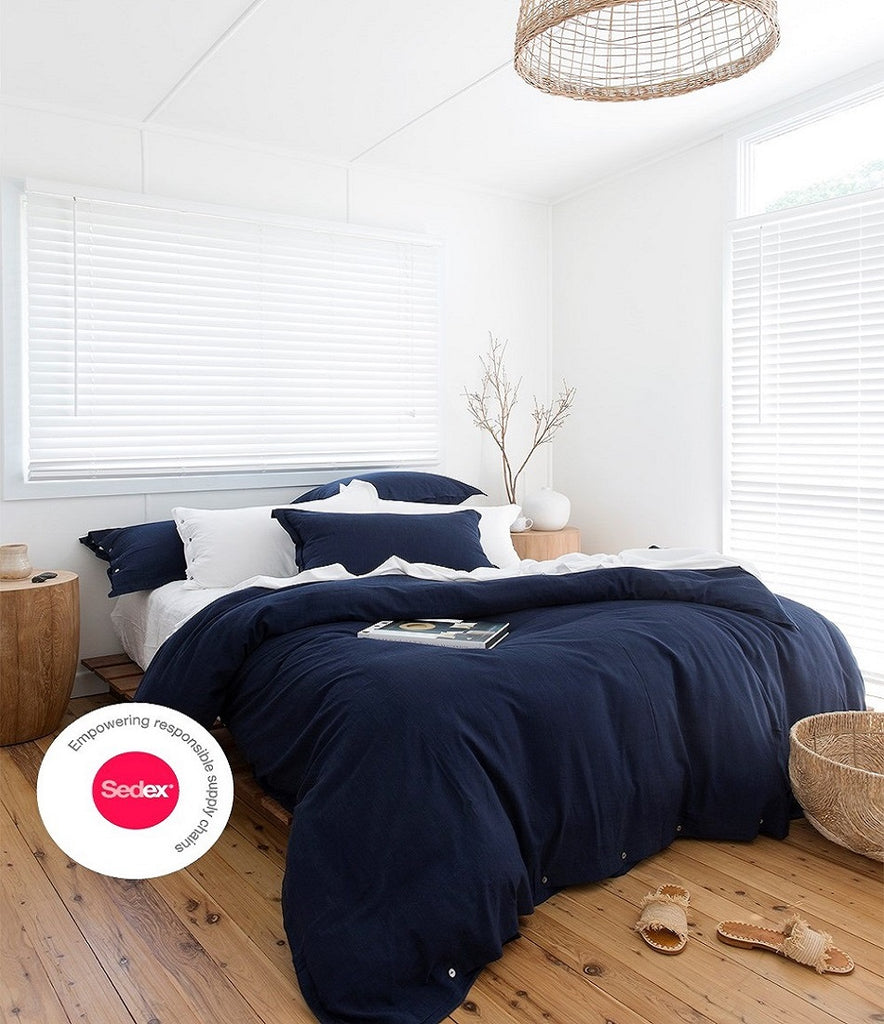 Ethical bedding with Loom Living