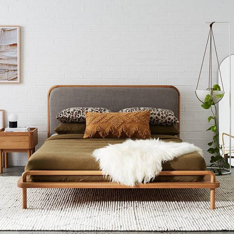 BED bedroom furniture LOOM LIVING