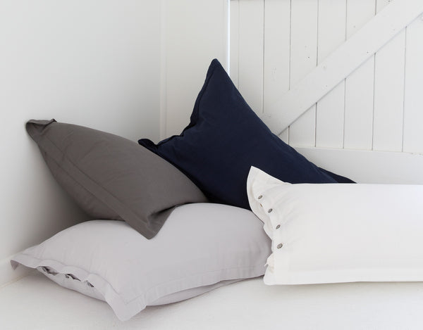 PILLOWS BAMBOO PILLOWCASES LOOM LIVING pillowslips ethically made pillowslips