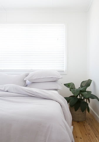 bamboo bedding peace lilly LOOM LIVING
