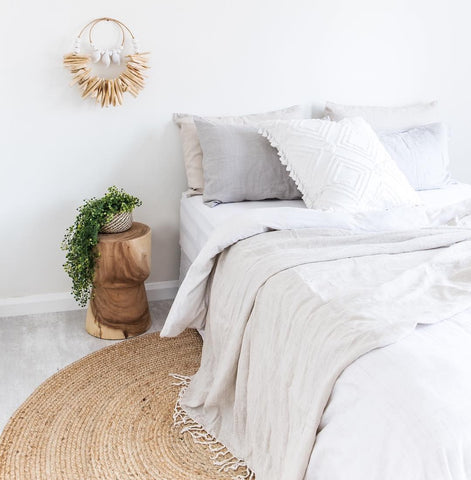 Bamboo bedlinen coastal cool LOOM LIVING