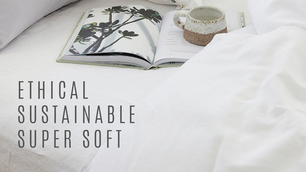 ETHCIAL SUSTAINABLE BAMBOO DUVET BAMBOO SHEETS DUVET COVERS LOOM LIVING