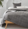 Velvet Coverlet  cotton velvet bedspread velvet bedding cotton velvet throw Loom Living