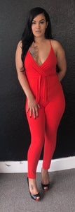 Lauren Jumpsuit Red
