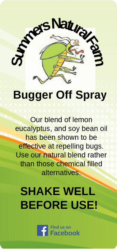 Bugger Off Spray - All Natural