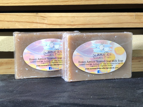 Honey Apricot Scented Goat Milk Soap - 3.5oz bar