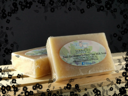 Tuscan Herb and Honey Scented Goat Milk Soap - 3.5oz bar