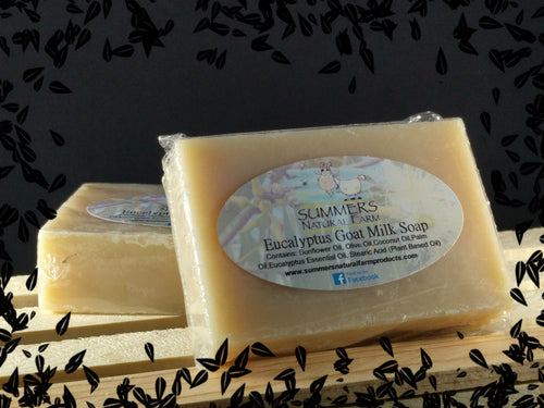 Goat Milk Soap with Eucalyptus Oil