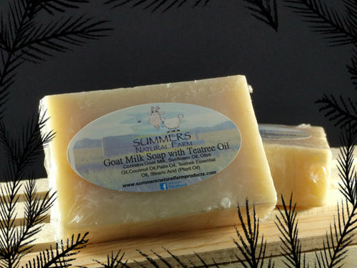 Goat Milk Soap with Teatree Oil