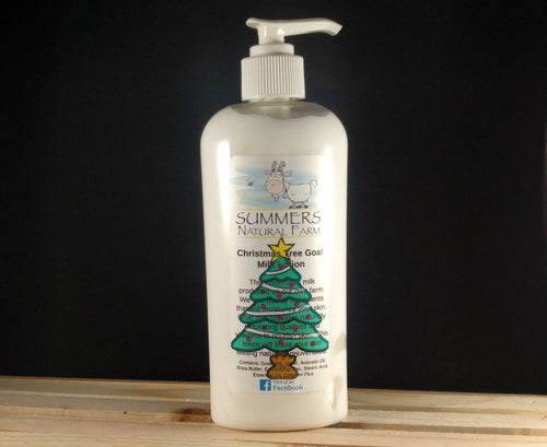 Christmas Tree Scented Goat Milk Lotion