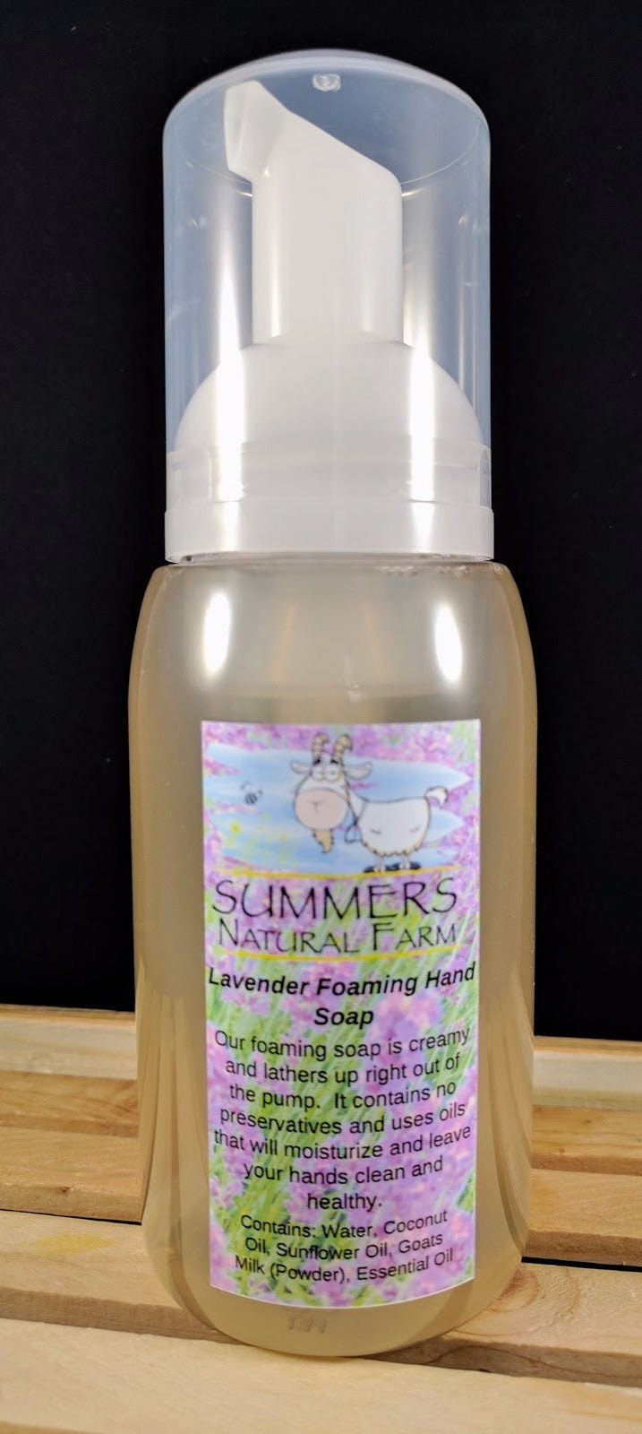 Vanilla Lavender Foaming Milk Hand  Soap with Goat Milk