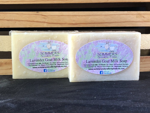 Lavender Goat Milk Soap - 3.5oz bar
