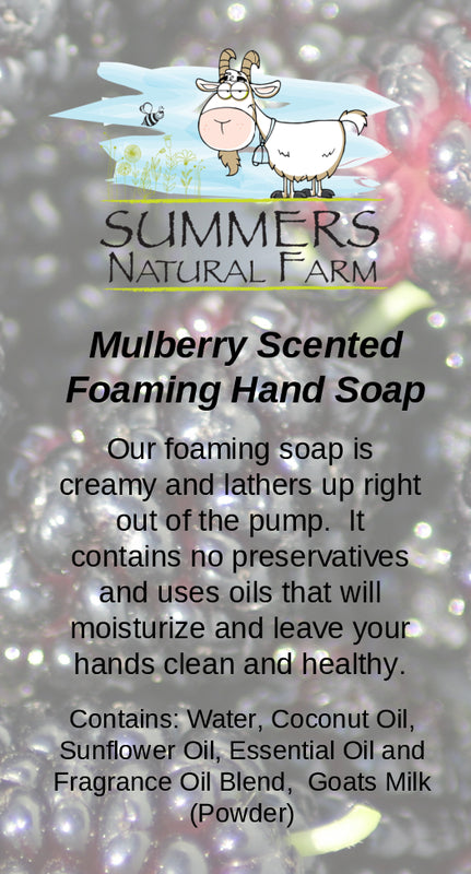 Mulberry Milk Hand Soap with Goat Milk