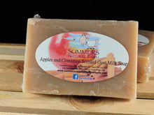 Apples and Cinnamon Scented Goat Milk Soap
