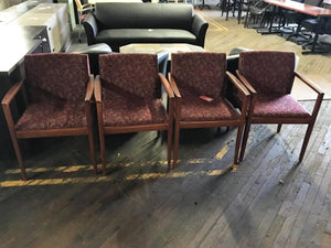 USED Steelcase Wood Frame Guest Chairs
