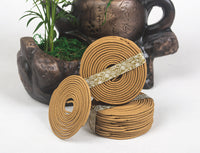 Natural Coil  Sandalwood Incense 48 pc